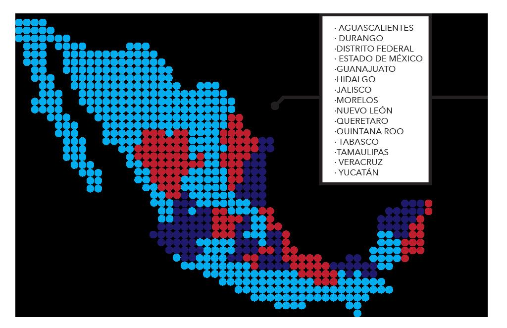 Red de distribución ATSA
